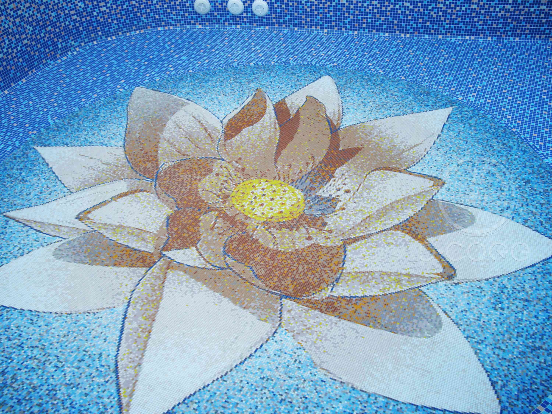 Swimming Pool 12 D Core Mosaic Studio